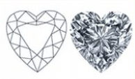 Heart-Shaped Diamond Cut