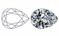 Pear-Shaped Diamond Cut